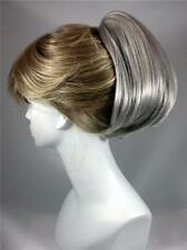 Short Straight Clip on Updo Ponytail Hairpiece