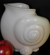 "Cambridge art glass ""Crown Tuscan"" Nautilus Shell pink glass Vase"