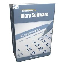 Diary Journal Calendar Scheduling Reminders To-Do List Software Program CD-ROM