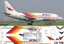 V1 Decals Boeing 737-200 Braathens Safe for 1//144 Airfix Model Airplane kit