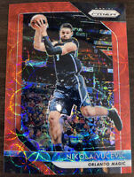 2018-19 Panini Prizm Choice Nikola Vucevic Red Refractor #76/88 Magic Chi Bulls!