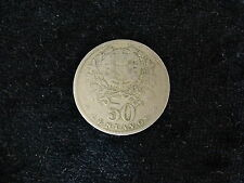 Portugal 1929 50 centavos coin