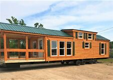 CABIN TINY HOUSE (MANY STYLES) MOVABLE PRE-FAB FOR YOUR PROPERTY/LOT PART. FURN.