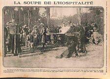 Balkan Wars Drobeta-Turnu Severin Romania Roumanie Refugee Soup Soupe WWI 1915