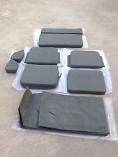 Jeep Willys MB Ford GPW Complete Seat Cushion And Canvas Top Set
