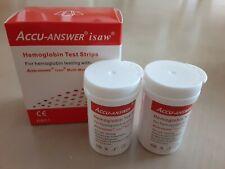 Accu-Answer isaw Blood Hemoglobin Test Strips (2X25 pcs)