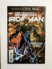 Invincible Iron Man #9 *1st Appearance Riri Williams* [1ST Print] Unread Marvel