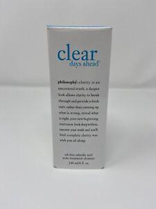 Philosophy Clear Days Ahead Oil-Free Acne Treatment Cleanser 8 oz