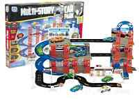 Multi Storey Car Park Auto Parking Garage Die Cast Cars Play Set Toy 16-8020