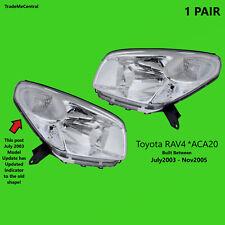 Toyota Rav4 Rav 4 2003 Update 2004 2005 CV Cruiser Head Lights Right Left Side