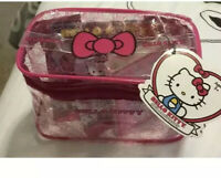 Hello Kitty's 40th Anniversary Carry All Case w/Mini Figures, Trading Cards
