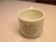 Vintage Old Spice Shaving Mug Ship Friendship Early American Old Spice