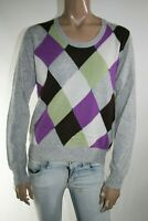 FRED PERRY MAGLIONE DONNA Tg. L WOMAN CASUAL VINTAGE SWEATER  L281