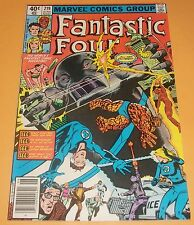 Fantastic Four #219 VF- (1980)  Bronze Age Comic Book  Sub-Mariner Appearance