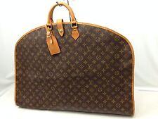 Auth Louis Vuitton Monogram Garment Travel Bag Vintage 6i270220N