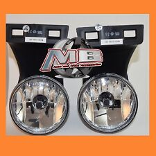 1994-2002 Dodge RAM Fog Lights 1500 / 2500/ 3500 Pick Up Truck Clear Lamps PAIR