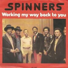 Spinners - Working My Way Back To You / Disco Ride (Vinyl-Single 1980) !!!