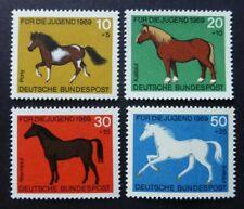 Germany 1969 Horses - Welfare -  MNH