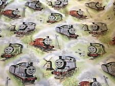 Vintage 1980's THOMAS the TRAIN Horrockses Curtains Panels or Fabric (RF803)