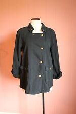 Textile Elizabeth and James Kelsey Parka Black S Small Madewell JCrew NWT $295