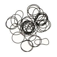 750Pcs Flat Rubber Gaskets Washers O Rings Seals for Watch Backs 16mm-30mm