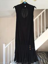 MISS SIXTY LADIES BLACK DRESS SIZE SMALL