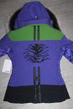 Sportalm Kitzbühel Damen Ski Jacke Nala 78 Blau Grün Größe 36 S Neu mit Etikett