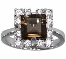 Cubic Zirconia Cocktail Natural Fine Rings