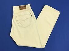 Soviet pantalone velluto w36 L34 tg 50 regular fit uomo pants usato panna T1340