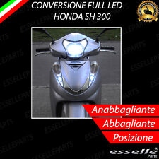 KIT A LED HONDA SH 300 ANABBAGLIANTE ABBAGLIANTE H4 LUCE DI POSIZIONE T10 6000K