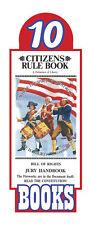 Original Citizens Rule Book Bill of Rights Jury Handbook Pocket Sized (10 pack)