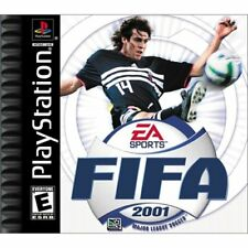 FIFA 2001 Major League Soccer For PlayStation 1 PS1 Game Only 9E