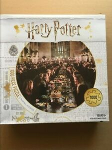 ~ HARRY POTTER ~ Hogwarts Great Hall ~ Puzzle ~ 1000 Pieces ~ Used ~ FREE Post ~