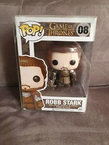Funko Pop Game of Thrones Robb Stark *Schutzhülle*