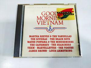 Good Morning Vietnam Beach Boys Louis Armstrong Soundtrack 1988 A&M - CD - 2T