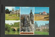 Colourmaster Multi View Colour  Postcard  Aberdeen posted 1978