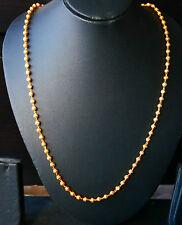 22k goldplated chain, ladies/men, fashion jewelry, style 26 inch bollywood u67