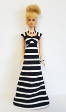 Fits FRANCIE DOLL CLOTHES B&W Gown and Jewelry HM Fashion  NO DOLL dolls4emma
