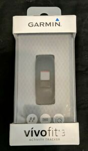 Garmin Vivofit 3 Activity Tracker - Black, Size XL w/ Small extra band included