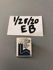 Vintage Lake Placid 1980 Olympic Pin