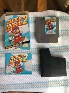 Awesome Super Mario Bros 2 in Box CiB (Nintendo Entertainment System, 1988)