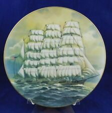 Danbury Mint Great American Sailing Ships Collector Plate - The Roanoke