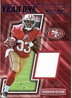 2017 Rookies and Stars Year One Prime #30 Joe Williams RC PATCH Jersey 14/25