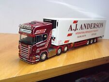 TEKNO - A.J.ANDERSON SCANIA WITH FIRDGE TRAILER - COLLECTORS CLUB MODEL