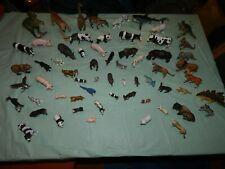 Mixed lot of 59 plastic Animals, Schleich, Safari & More nice set