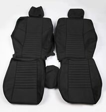 Custom Made 2008-present Dodge Challenger Real leather seat covers Front Only