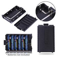 For BaoFeng Radio UV5R/UV5RB UV5RE/UV5REP 6AAA Battery Extended Case Shell Box