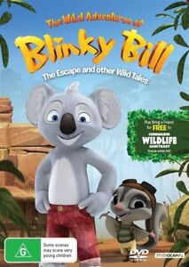 The Wild Adventures Of BLINKY BILL: Escape And Other Wild Tales DVD Koala NEW R4