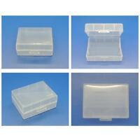 5x Plastic Hard Case Holder Storage Box For Nikon Samsung Canon Battery UK