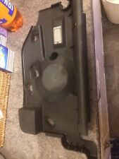 Saab 93 convertible passenger side dashboard lower panel with puddle light